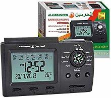 HA-3005 Digital Azan Clock With Compass Muslim