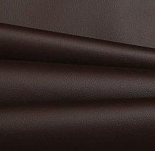 Haaris Imaan Dark Chocolate Brown Faux Leather