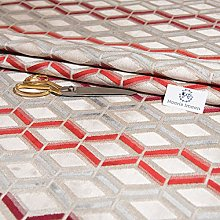 Haaris Imaan Geometric Jacquard Upholstery Fabric
