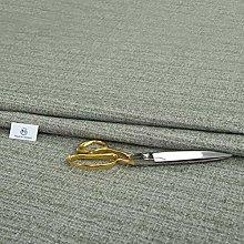 Haaris Imaan Grey Linen Look Chenille Upholstery