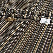 Haaris Imaan Striped Chenille Velvety Upholstery
