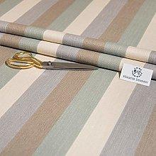 Haaris Imaan Striped Herringbone Upholstery Fabric