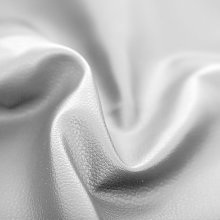 Haaris Imaan White Faux Leather Soft Feel Material