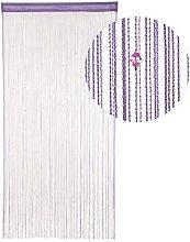 HAB & GUT -DV0129A- String Door Curtain - Purple