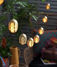 Habitat 10 Dancing Flame Solar String Lights