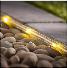 Habitat 110 Warm White Copper Wire Tube LED Solar