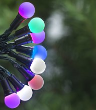 Habitat 160 Multicoloured LED Berry Lights - 14m