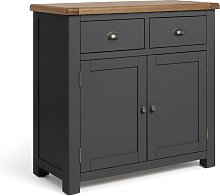 Habitat 2 Door 2 Drawer Sideboard - Grey