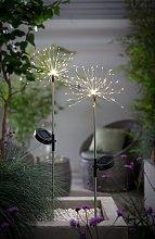 Habitat 2 Warm White LED Firefly Stake Solar Lights