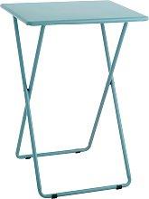 Habitat Airo Metal Folding Table - Sea Blue
