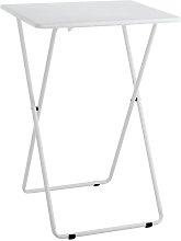 Habitat Airo Metal Folding Table - White