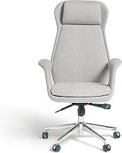 Habitat Alban Fabric Office Chair - Grey
