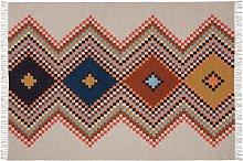 Habitat Andes Flatweave Wool Rug - 160 x 230cm -