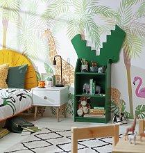 Habitat Animal 3 Shelf Crocodile Bookcase - Green