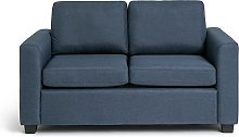 Habitat Apartment 2 Seater Fabric Sofa Bed - Navy