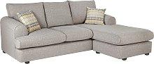 Habitat Atticus Right Corner Fabric Chaise Sofa -