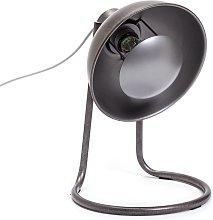 Habitat Back Lit Desk Lamp - Pewter Finish