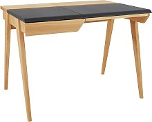 Habitat Beckett 2 Drawers Desk - Oak