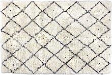 Habitat Berber Flatweave Wool Rug - 140x200cm -