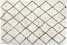 Habitat Berber Flatweave Wool Rug - 170 x 240cm -