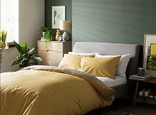 Habitat Betsy Yellow Reversible Bedding Set -