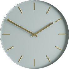 Habitat Bourke Metal Wall Clock - Grey