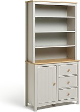 Habitat Bournemouth 3 Drawer Display Cabinet -