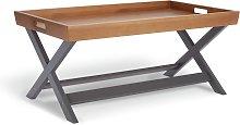 Habitat Bournemouth Tray Coffee Table - Dark Grey