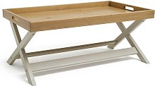 Habitat Bournemouth Tray Coffee Table - Light Grey
