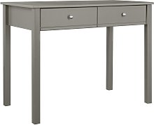 Habitat Brooklyn 2 Drawer Desk - Grey