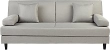 Habitat Chase Fabric Clic Clac Sofa Bed - Light