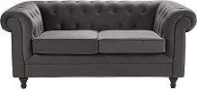 Habitat Chesterfield 2 Seater Velvet Sofa -
