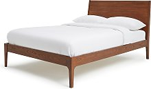 Habitat Clanfield Kingsize Bed Frame - Dark  Oak