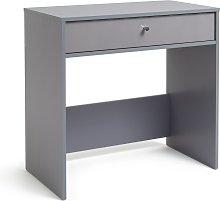 Habitat Compact Laptop Desk - Grey