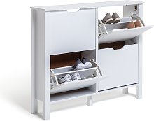 Habitat Compton 4 Shelf Shoe Storage Cabinet -
