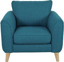 Habitat Cooper Fabric Armchair - Teal