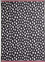 Habitat Dalmatian Cotton Flatweave Rug -120x170cm