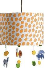 Habitat Drum Dash Print & Hanging Animal Ceiling