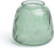Habitat Eden Glass Vase - Green