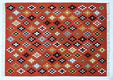 Habitat Eliza Diamonds Wool Rug - 160x230cm -
