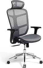 Habitat Ergonomic Office Chair - Grey