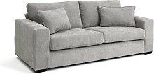 Habitat Eton 3 Seater Fabric Sofa - Grey