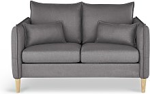 Habitat Etta 2 Seater Fabric Sofa in a Box - Grey