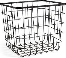Habitat Flat Wire Squares Plus Storage Basket -