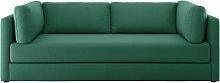 Habitat Flip 3 Seater Fabric Sofa Bed - Green