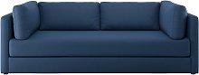Habitat Flip 3 Seater Fabric Sofa Bed - Navy