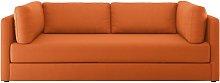 Habitat Flip 3 Seater Fabric Sofa Bed - Orange