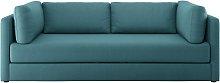 Habitat Flip 3 Seater Fabric Sofa Bed - Teal