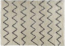 Habitat Flokati Flatweave Wool Rug - 170x240cm -
