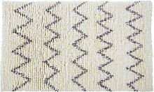 Habitat Flokati Handwoven Wool Rug - 120 x 180cm -